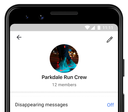 How to create a group on the Signal app